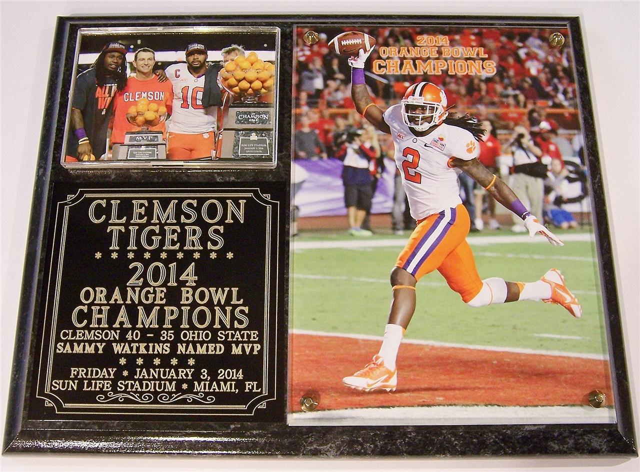 Orange Bowl 2014 Clemson Tigers ...