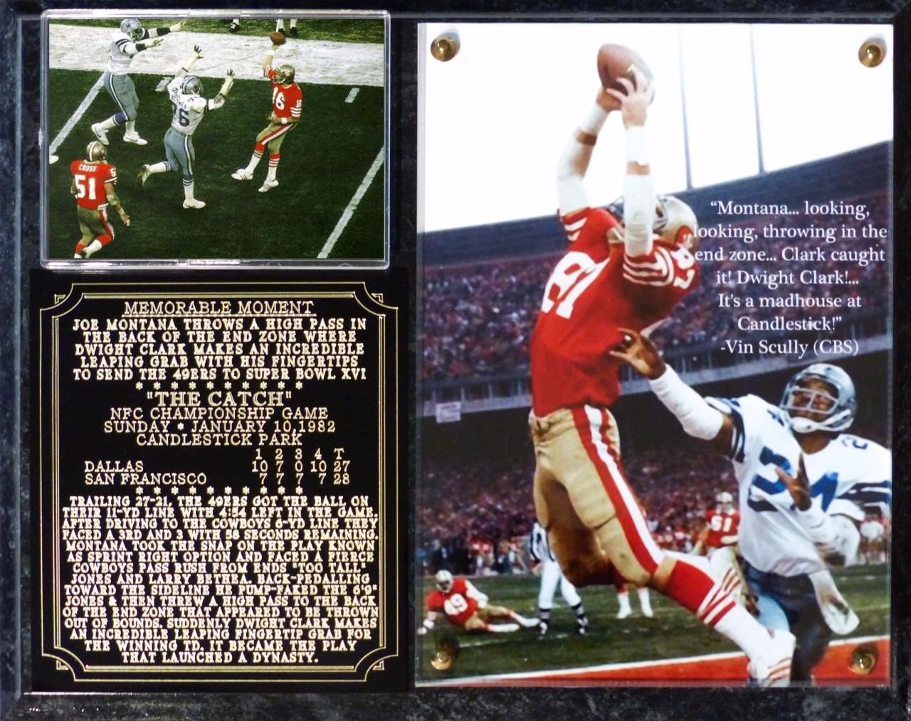 Dwight-Clark-The-Catch-Memorable-Moment-Photo-Plaque-