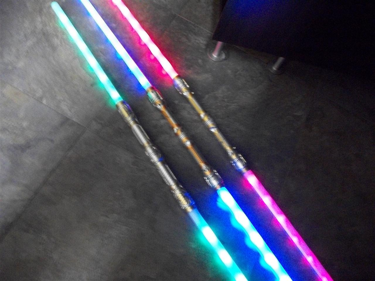 2 Dual Galactic Wars Lightsaber 6 Fx Double 2 Sided Light