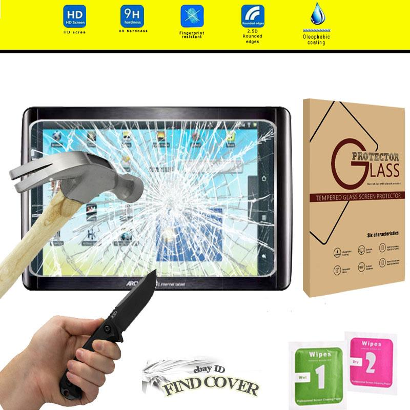 """Tablet Tempered Glass Screen Protector Cover For ARCHOS 101 Cobalt 10.1/"""""""