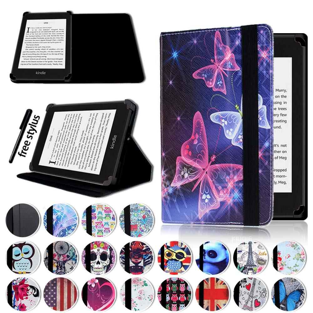 Details about Leather Stand Flip Cover Case For Amazon Kindle 4/5//7/8/9  Paperwhite 1/2/3/4