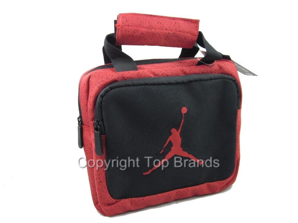 c3fbe4b188ff Nike-Air-Jordan-Black-Red-Lunch-Box-Tote-