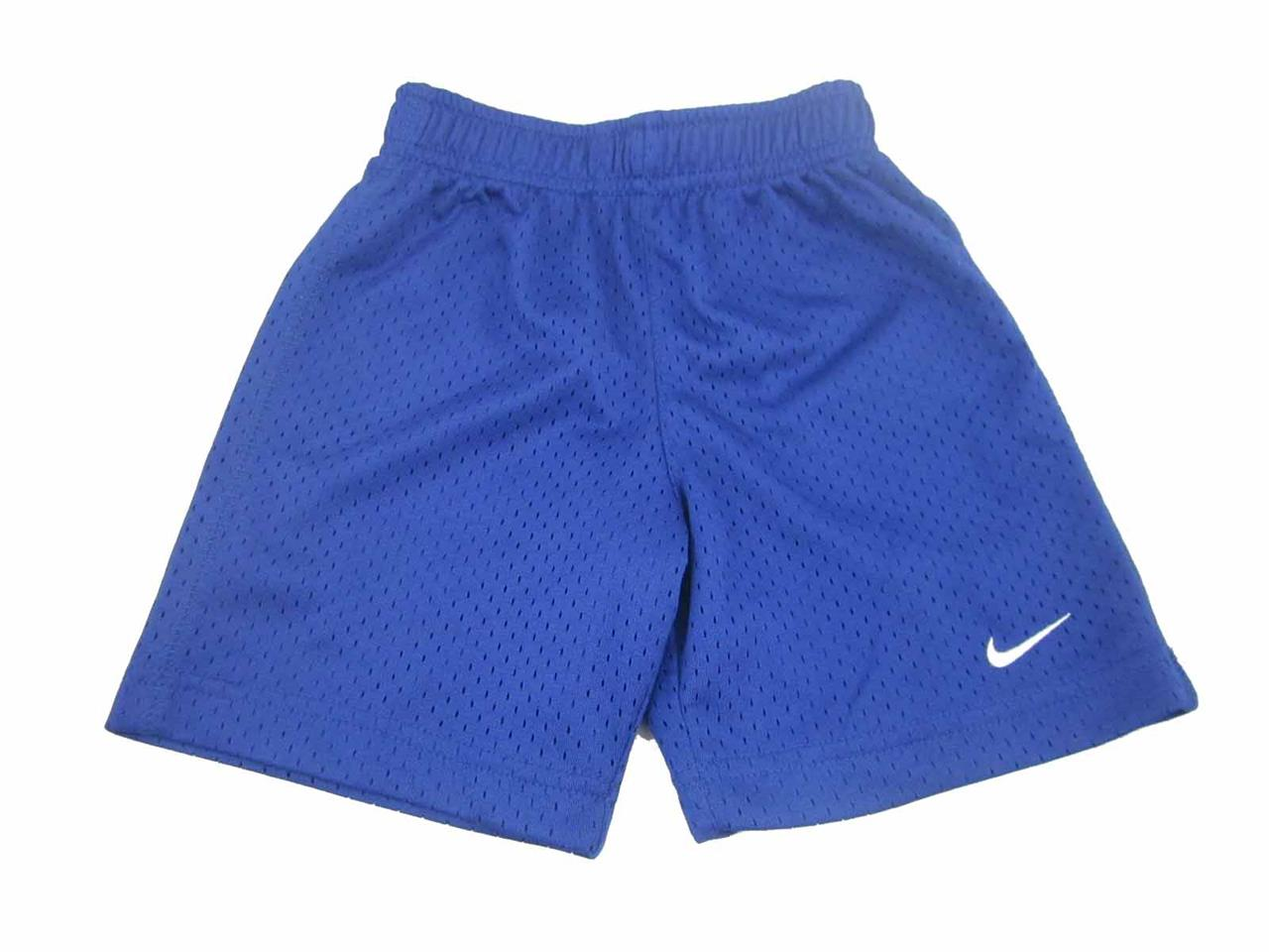 Boys Toddler Nike Mesh Athletic Dri Fit Shorts Black Blue ...