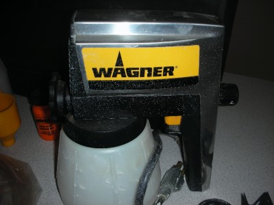 wagner power painter airless paint sprayer pro duty 300 ebay. Black Bedroom Furniture Sets. Home Design Ideas