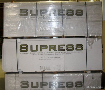 Pallet 50 Sheets Of New Supress Sed 1248 Soundproof