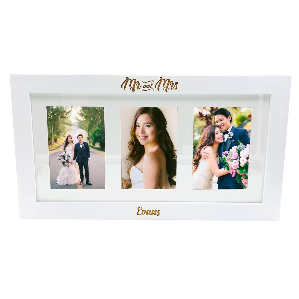 Personalised Family Wooden Photo Frame Gift FW235