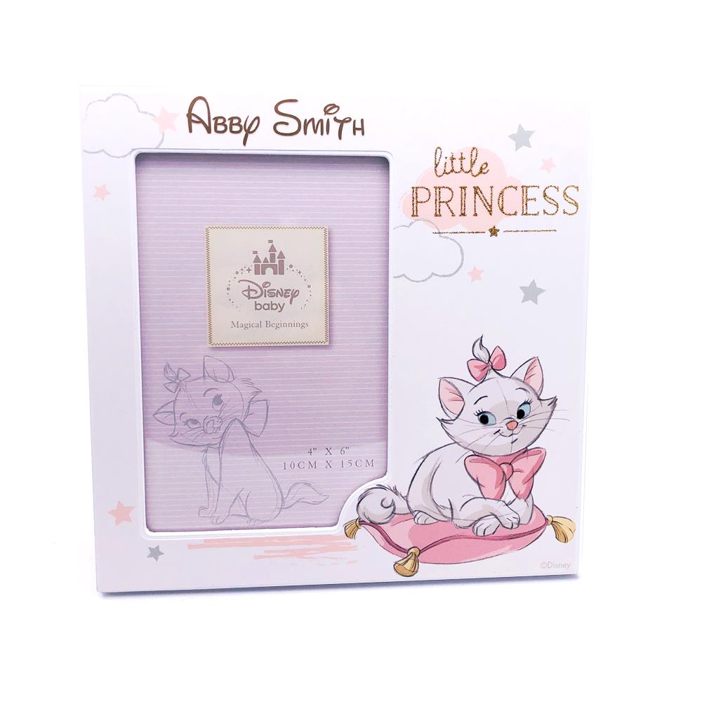 Personalised Disney Aristocats Marie Little Princess Photo Frame Gift DI289-P
