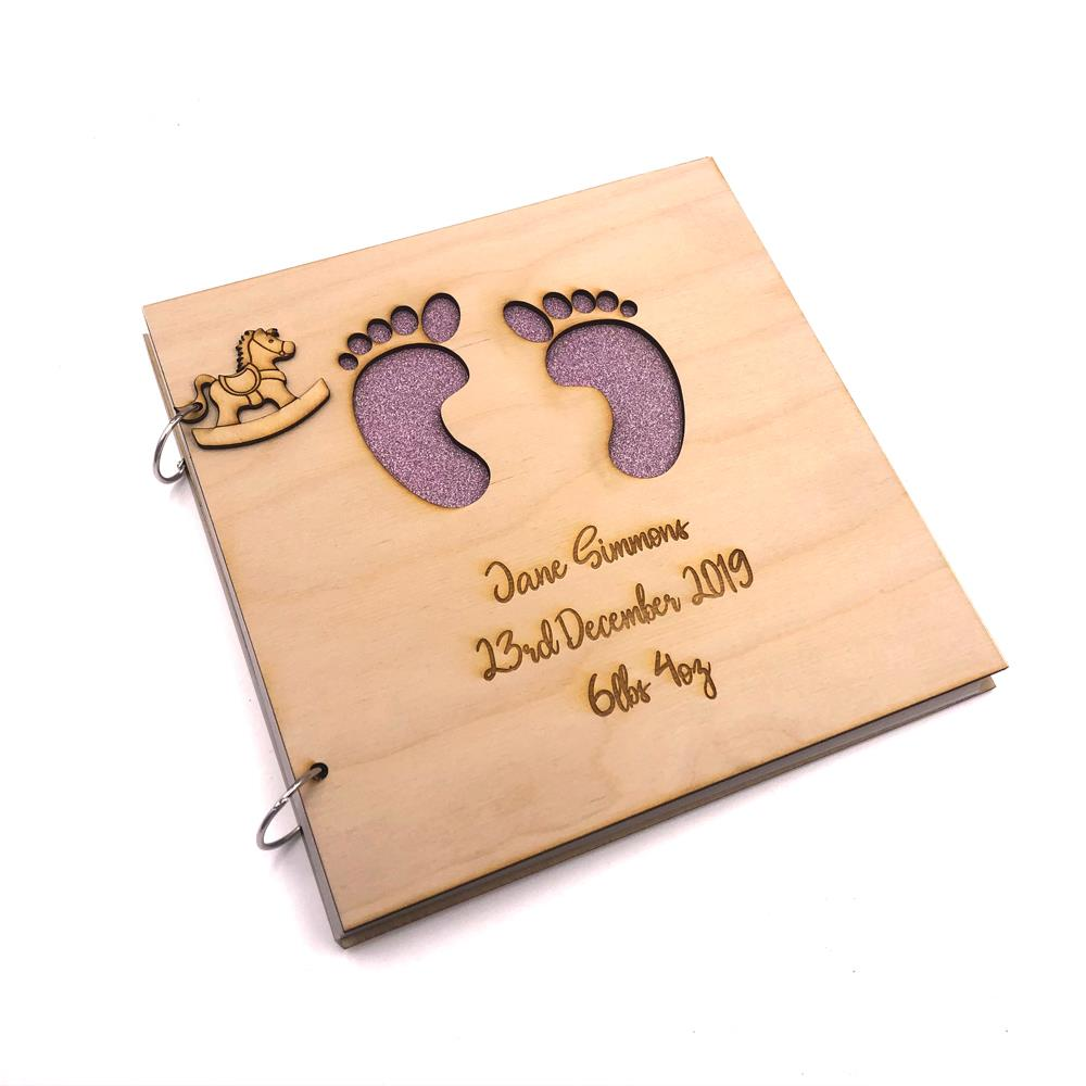 21st Birthday Gift,6 x 4 Personalised Photo Album,Memory//Guest Book