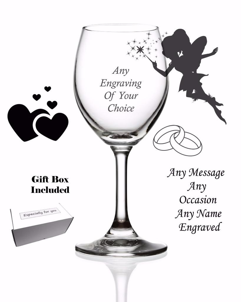NEW PERSONALISED CRYSTAL CHAMPAGNE FLUTE GIFT BOXED WEDDING ANNIVERSARY BIRTHDAY
