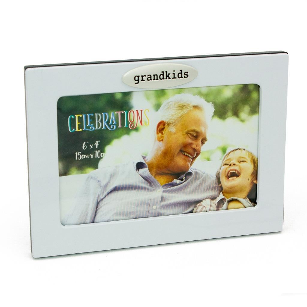 Celebrations Grandkids Aluminium Photo Frame Gift FA130GK ...