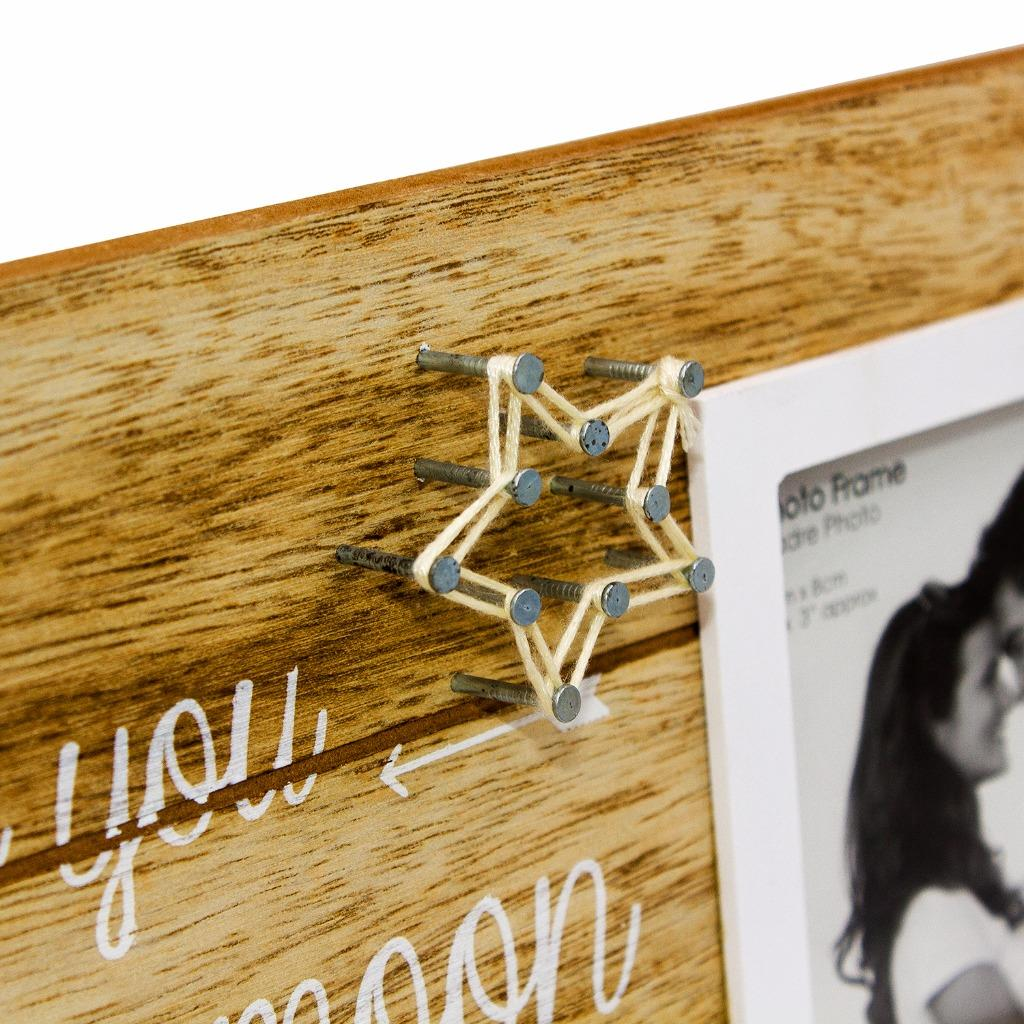 I Love You To The Moon And Back String Design Photo Frame Ph2147
