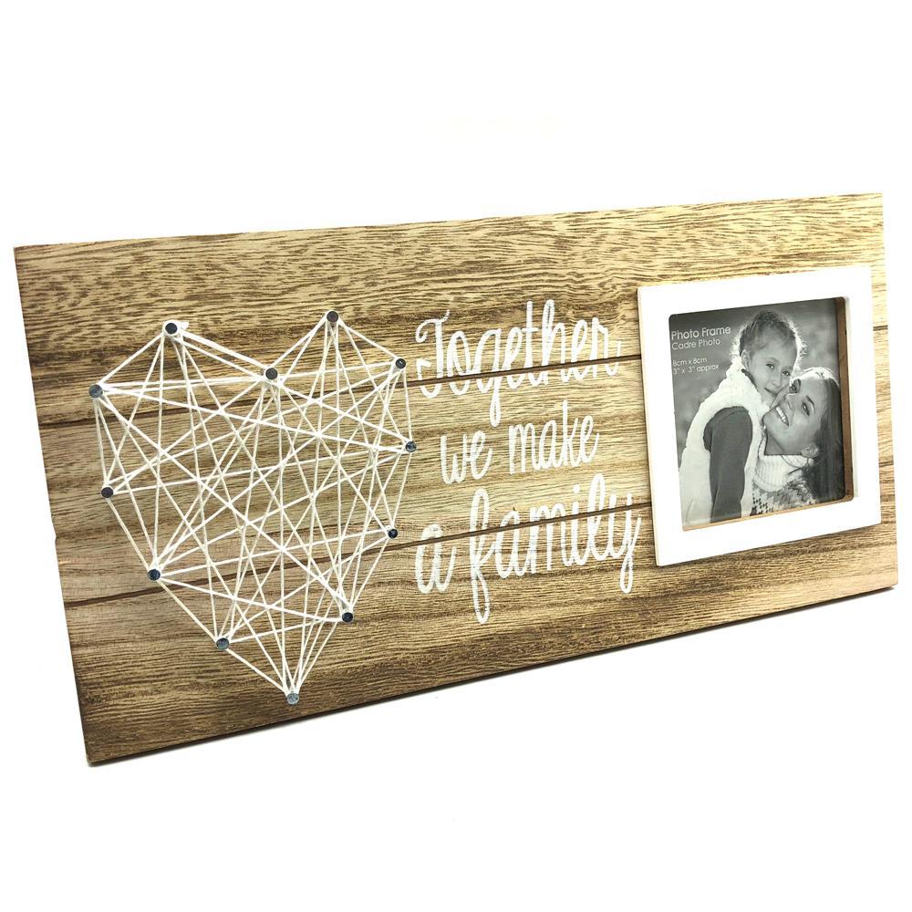 Together We Make A Family String Design Photo Frame PH2148-FAM ...