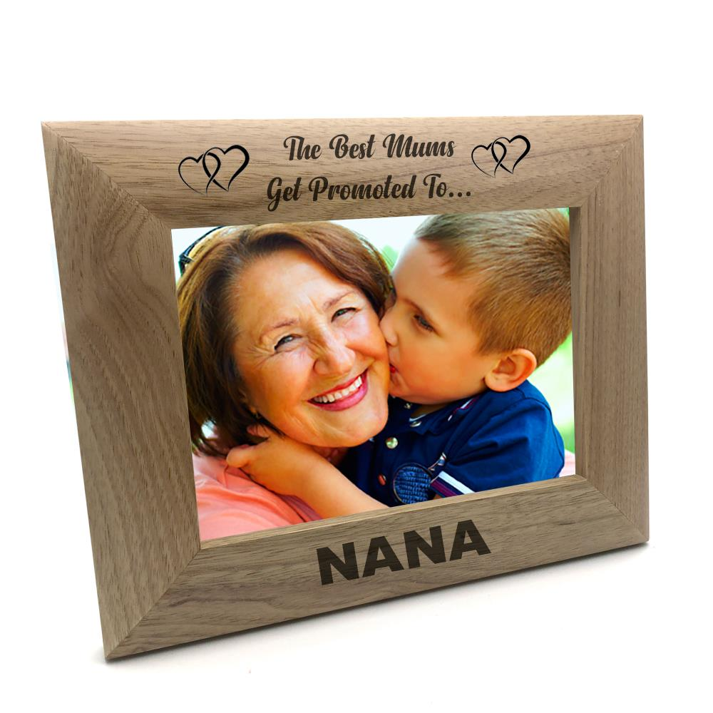 Happy 40th Anniversary Wooden Photo Frame Gift FW133