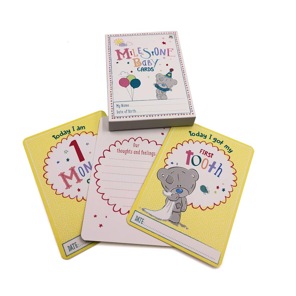 Baby Milestone cards Me To You baby shower gift Baby Pregnancy Gift Keepsake