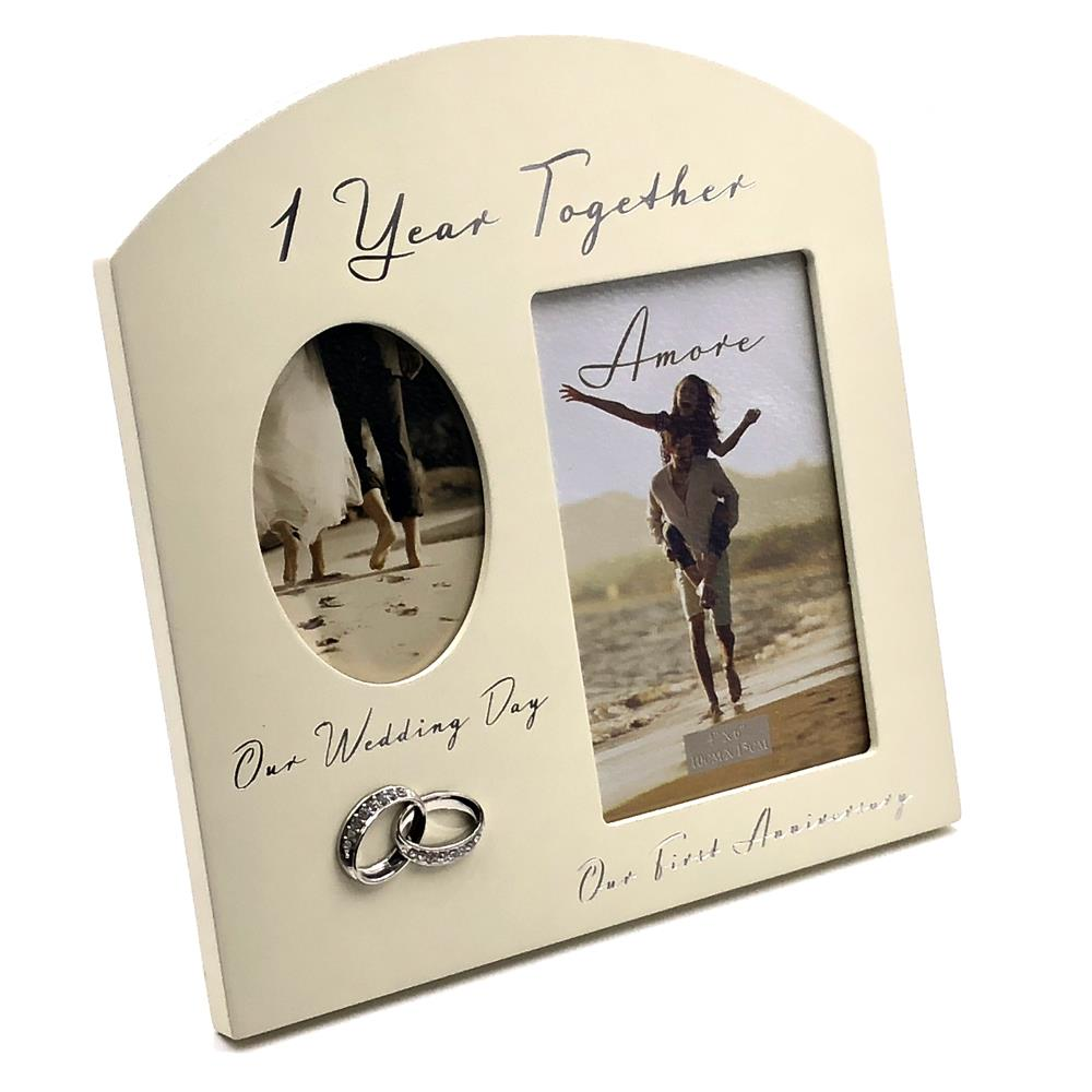 First Wedding Anniversary Multi Photo Picture Frame WG979 ...