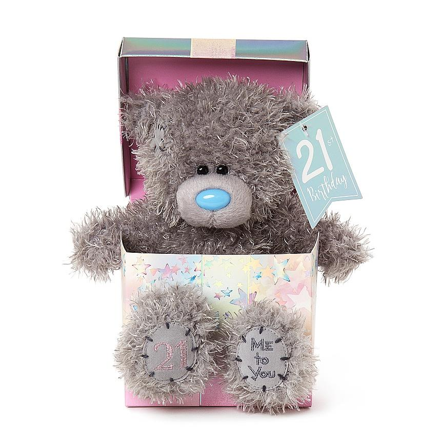 Me To You Tatty Teddy 21st Birthday Gift Set Boxed New AP701027