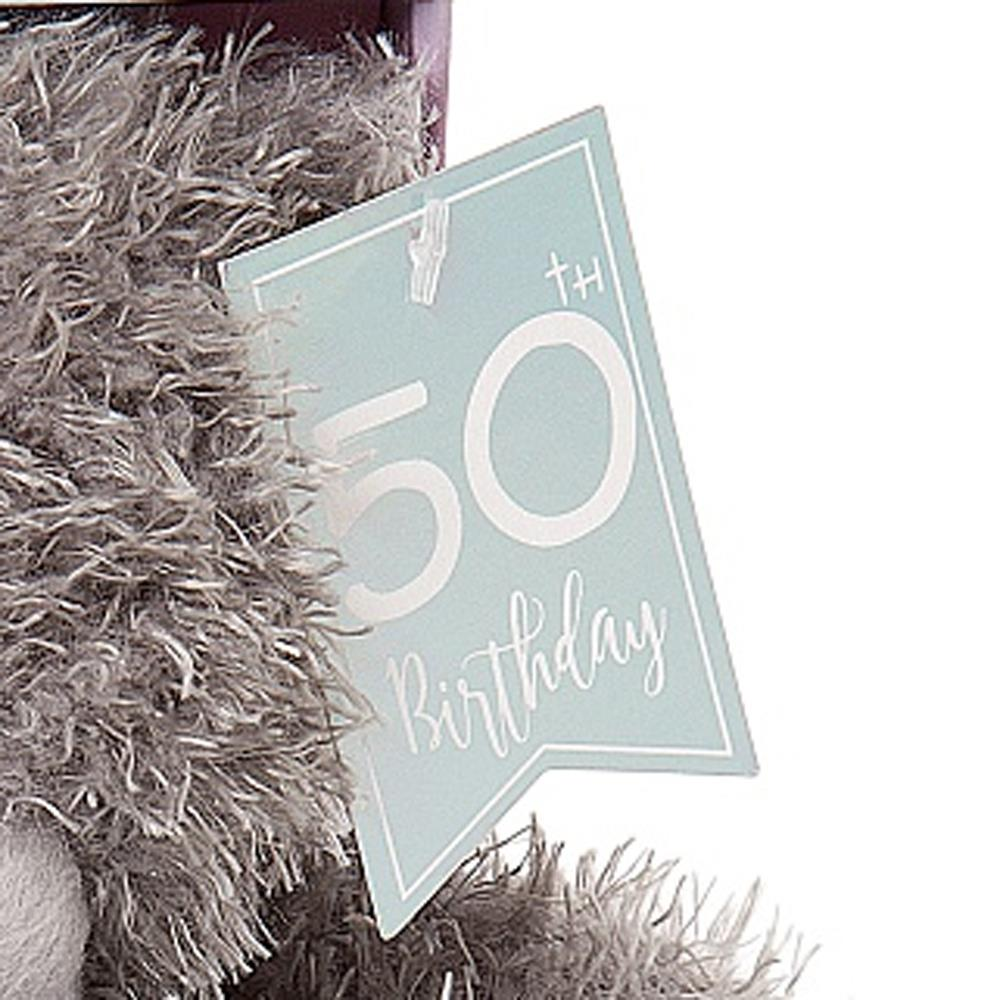 Personalised Me to You Tatty Teddy 50th Birthday Gift Set Boxed New AP701030-P
