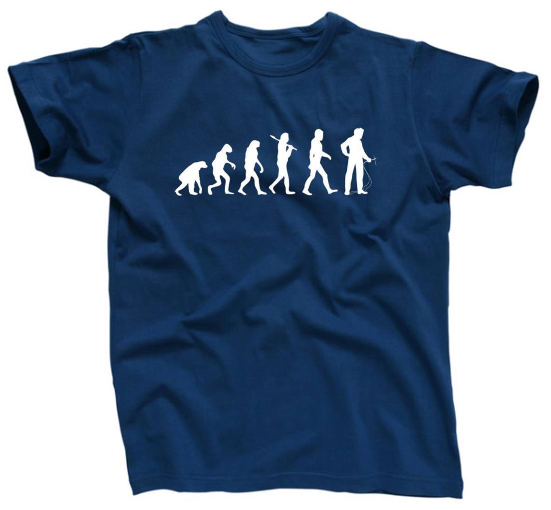 e9f47be9 EVOLUTION Welder Welding Arc Mig Tig Gift Tee Funny - T-Shirt - NEW ...