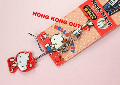 Hello Kitty Cell PHONE LANYARD ID NECK STRAP Sanrio G3a