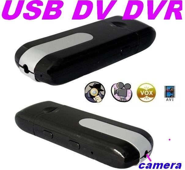 Mini DV DVR USB Disk Spy Camera Motion Detection U8