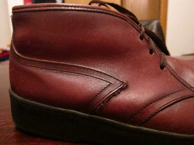 MINT VTG Bates Floaters Mens Leather Wool Lined Warm