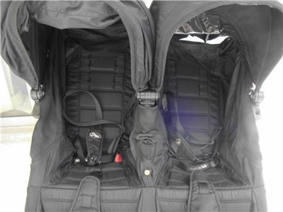 Baby Jogger City Mini Double Stroller Twins Double Seat Black Ebay