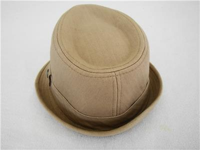 Mens Levis Tan 100% Cotton Fedora Hat 109028 - Size Large Extra ... a78ca49d353c