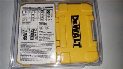 995737247 tp - DEWALT DW2166 45-Piece Screwdriving Set with Tough Case - NEW SEALED