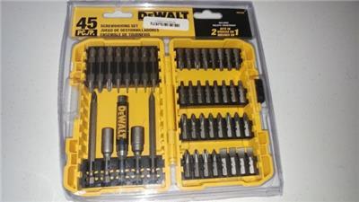 995737260 tp - DEWALT DW2166 45-Piece Screwdriving Set with Tough Case - NEW SEALED