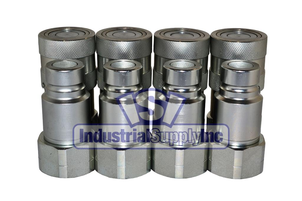 Industrial Supply-4HTF6-HT4F6-Hydraulic Quick Coupler
