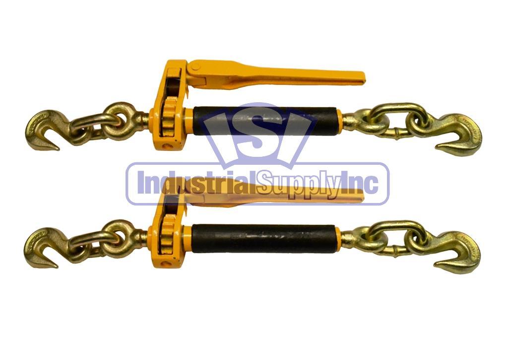 Load Binder Ratchet Tow Chain 3 8 Quot 1 2 Quot 2 Pack