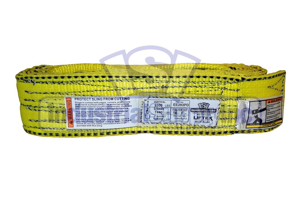 Web Sling Tuff-Edge 2inW Type 3 4 ft.L