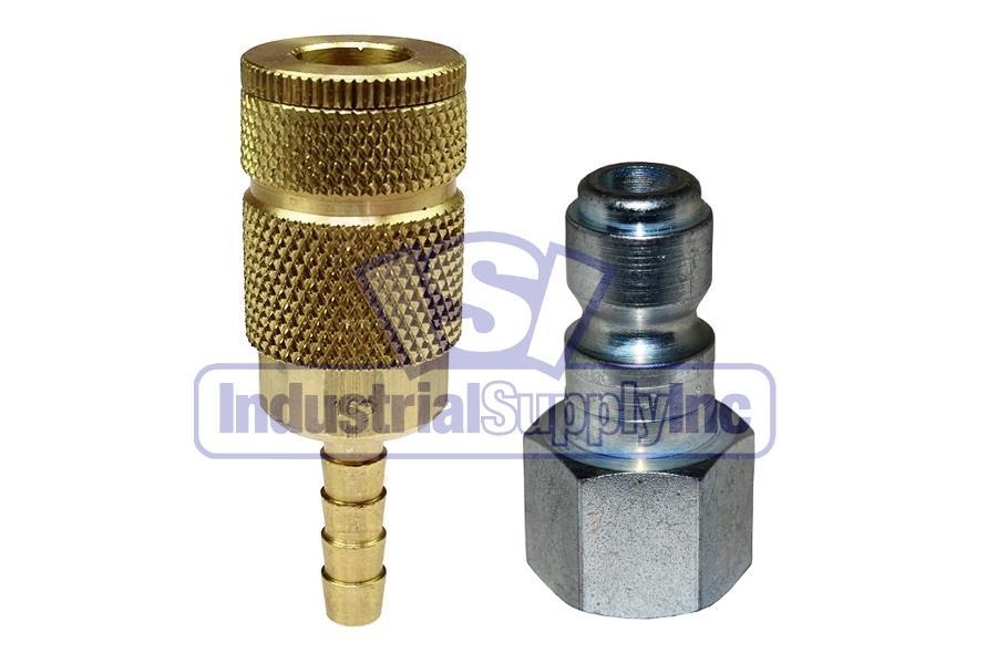 Female Coilhose Pneumatics 120 1//2-Inch Body Size 1//2-Inch NPT Coilflow Industrial Interchange Coupler