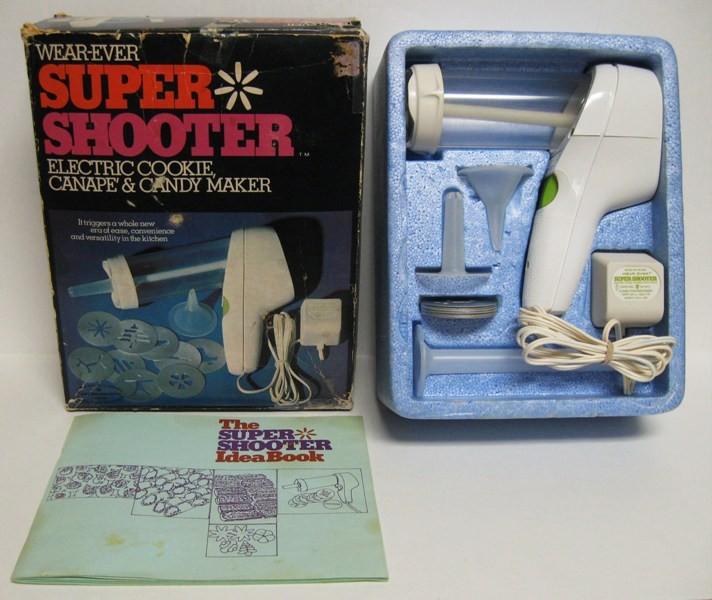 Wear Ever Super Shooter Electric Cookie Maker Press Gun ...