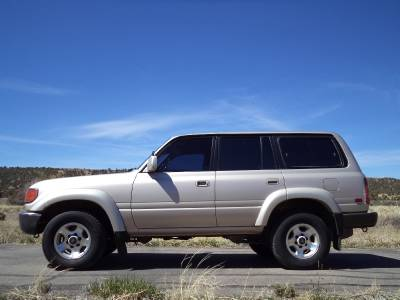 Sell used 1994 Toyota FZJ80 Land Cruiser-Rock Crawler