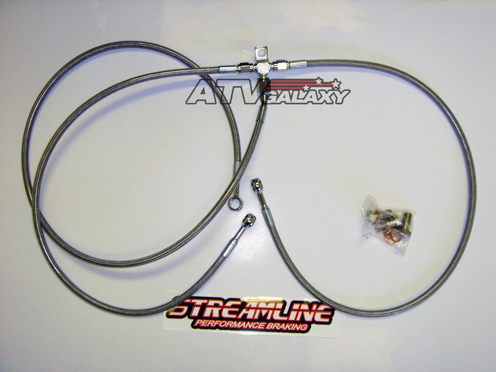 Streamline Front Brake Lines Suzuki LTZ400 LTZ 400