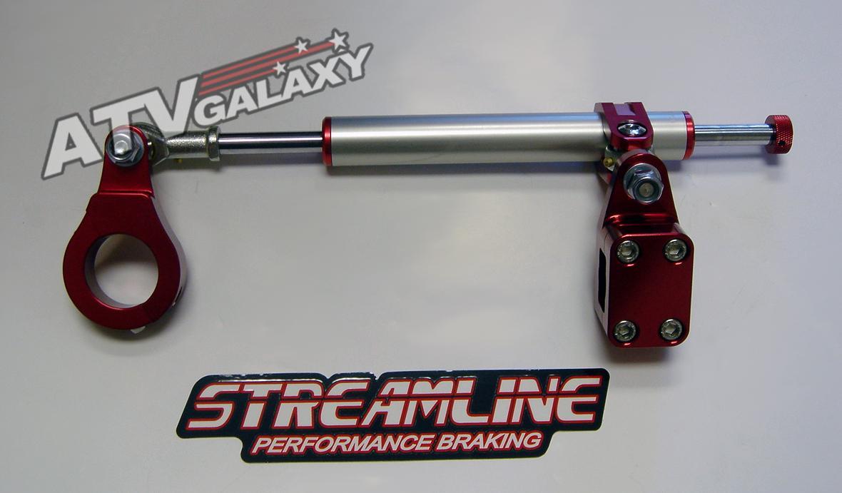 Streamline Black 7 Way Steering Stabilizer Yamaha Raptor 660 01 02 03 04 05