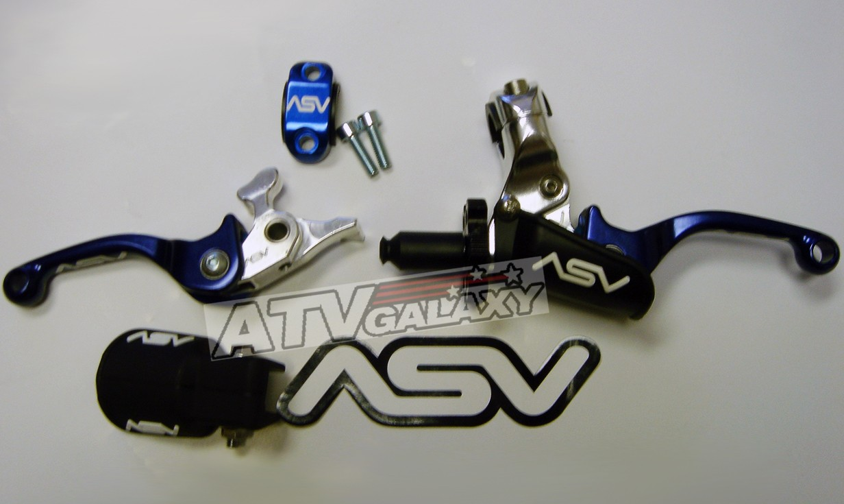 ASV Blue F3 Holiday SHORTY Pro Pack Clutch Brake 96-01 Yamaha WR 426F 400F 250F