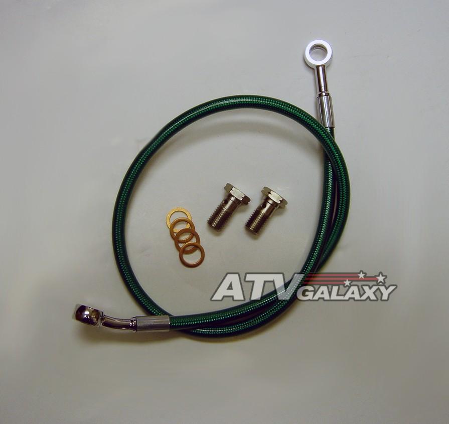 Standard +2in. Streamline 400EX-F-2 3-Line Brake Line Kit