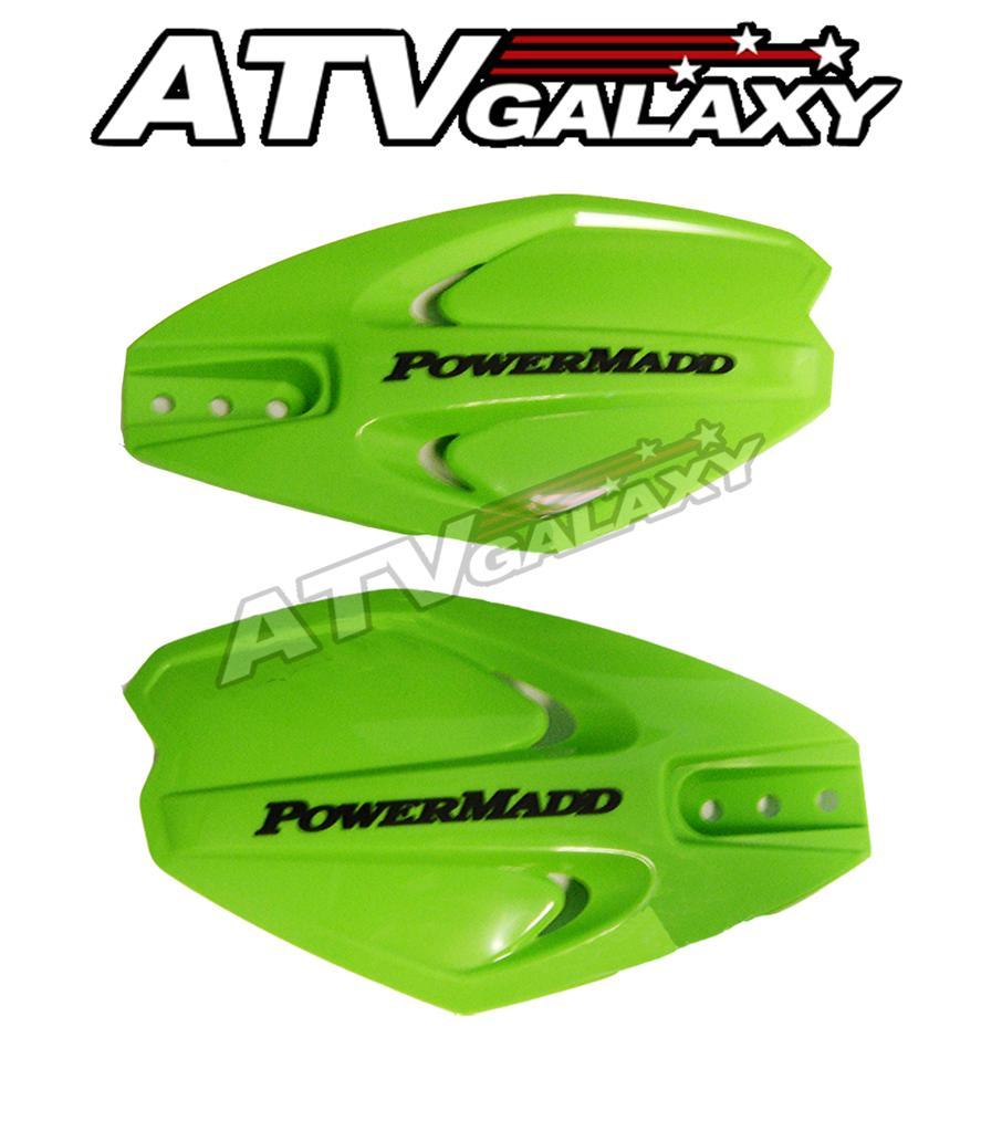 Powermadd 34283  Powermadd Power X Series Handguards Green//no Mount