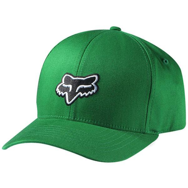NEW Fox Racing Legacy Flexfit Flex Fit Hat Cap GREEN Size