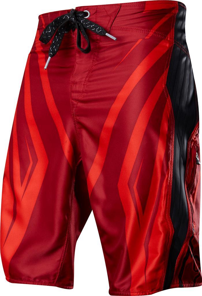 8a209d2e612 Fox Racing WIFI TECH Boardshort RED Swim Trunks SURF Board Shorts ...