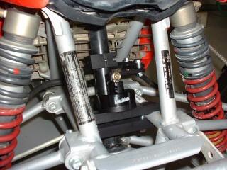 Billetanium 7 Way Steering Stabilizer Black Honda TRX400EX 400EX 99 00 01 02 03