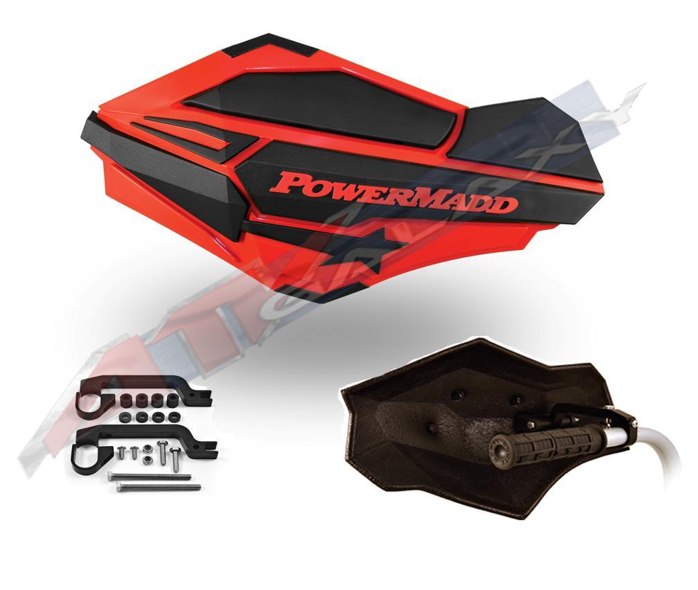 PowerMadd SENTINEL Handguard Guards KIT Blue//Black Polaris Predator 500 34404