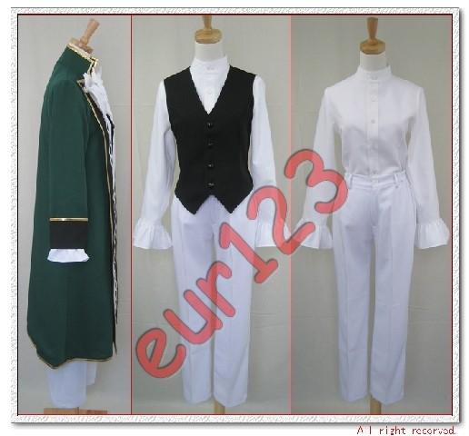 Pandora Hearts Jack Vessalius Cosplay Costume Custom | eBay