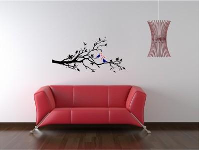 Tree Bird Branch Vinyl Wall Art Decal Mural Removable