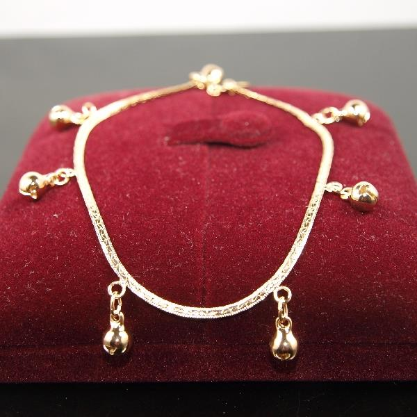 SALE 9ct 9K 034 Gold Filled 034 Prom Ladies Balls ANKLET Bracelet 9034  105034 b410 - <span itemprop=availableAtOrFrom>London, United Kingdom</span> - * We exchange any defective merchandise. Items may only be returned after notification and must be returned within 7 days of receipt * Item must be returned as new in unopened packaging an - London, United Kingdom