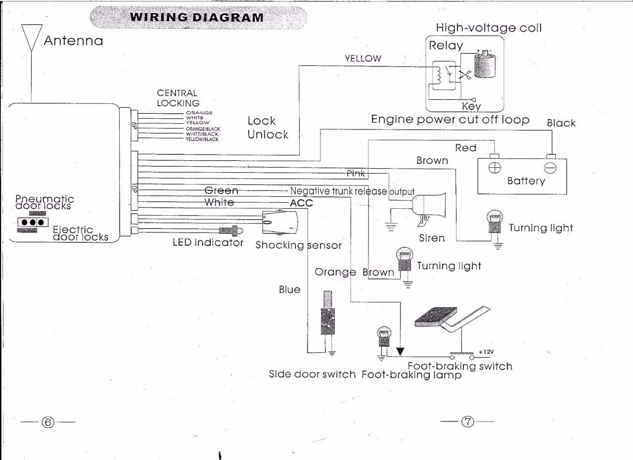 Code Alarm Wiring Diagram For Hornet