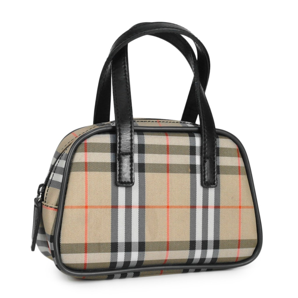 AUTHENTIC COLLECTIBLE BURBERRY NOVA CHECK MINIATURE BOWLER ...