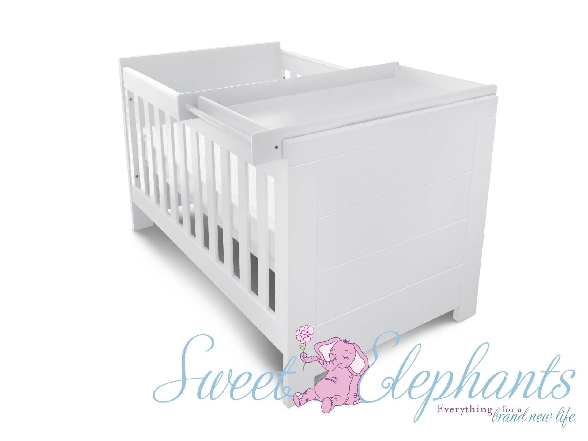 how to change cot into toddler bed